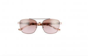 Tory Burch 57mm Gradient Navigator Sunglasses